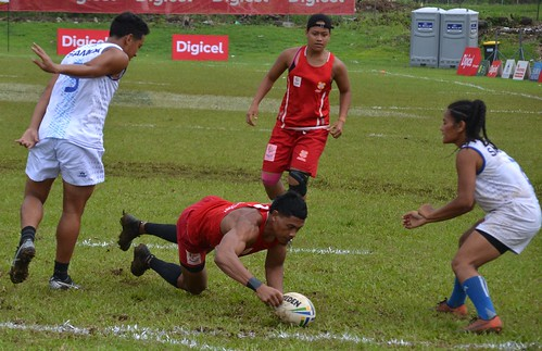 Touch rugby tournament at the Pacific Games