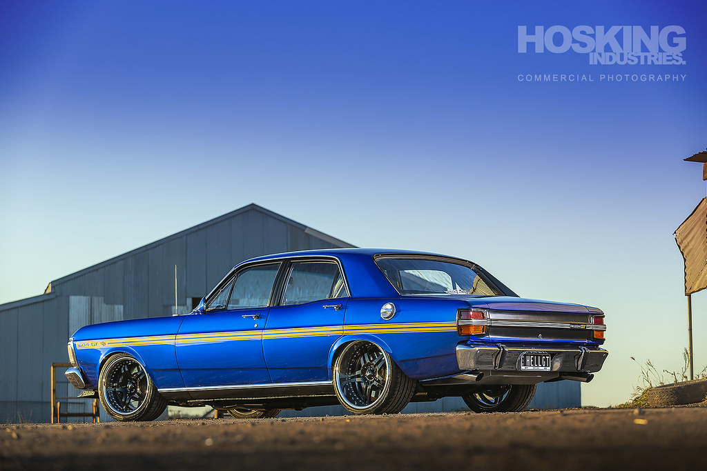 Angus' 604ci Ford Falcon GT