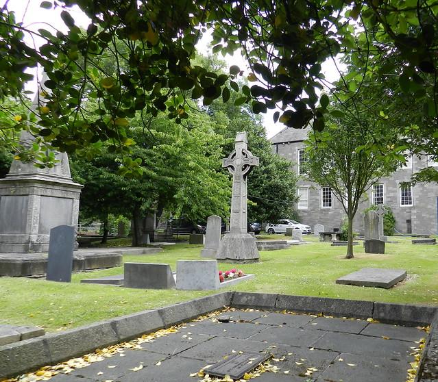 cementerio exterior Catedral de San Patricio anglicana Dublin Republica de Irlanda 04
