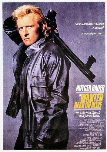 Rutger Hauer in Wanted Dead or Alive (1987)
