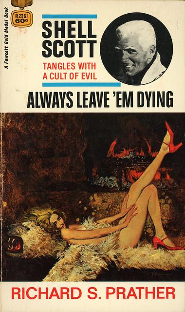 Gold Medal Books R2261 - Richard S. Prather - Always Leave 'Em Dying