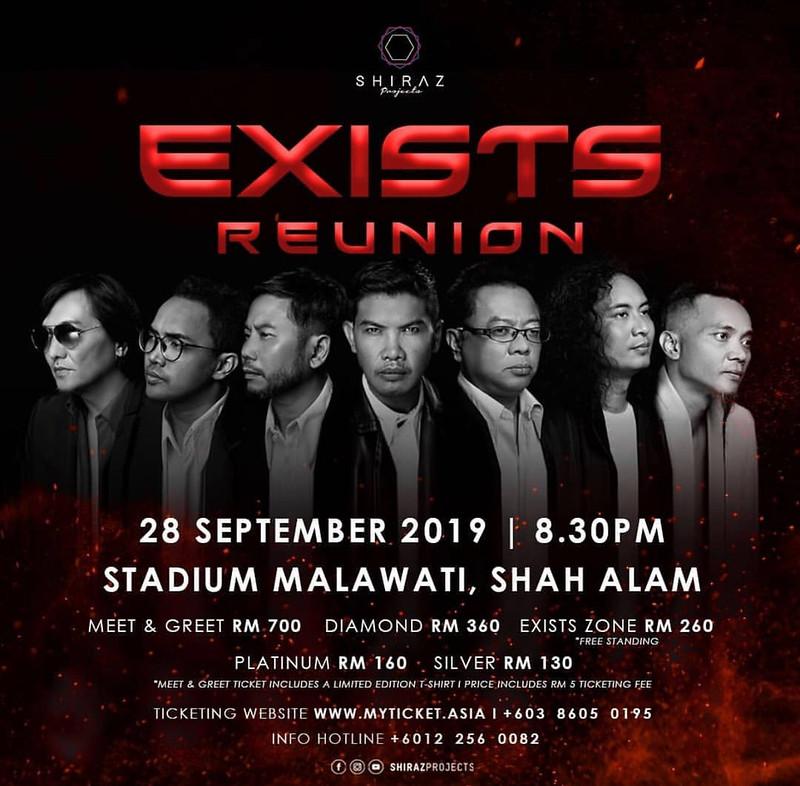 Konsert Exists Reunion