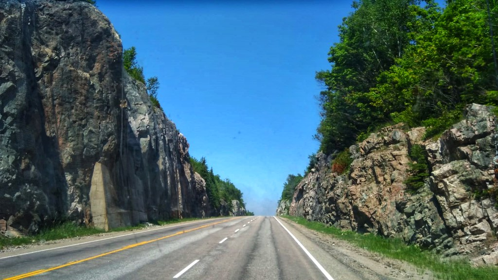 It's a beautiful drive to Thunder Bay!