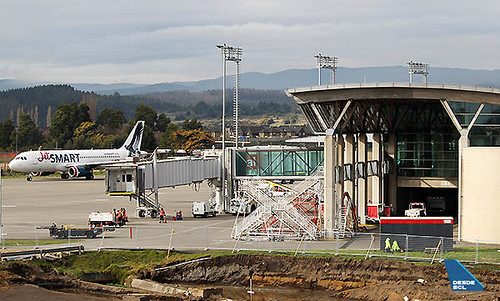 CCP terminal pasajeros y JetSMART A320 (Benjamín Concha)