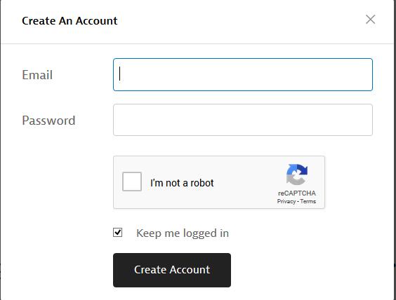 Đăng ký tài khoản Instapaper