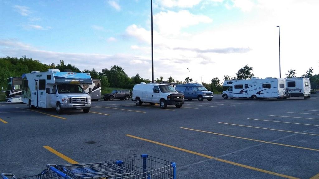 Some Walmarts become mini RV communities overnight