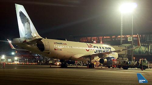 JetSMART A320 CCP (Gabriel Marchant)