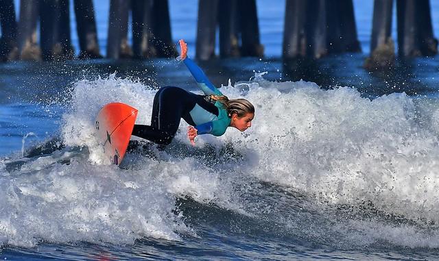 Surf: Supergirl Prepration Oceanside CA