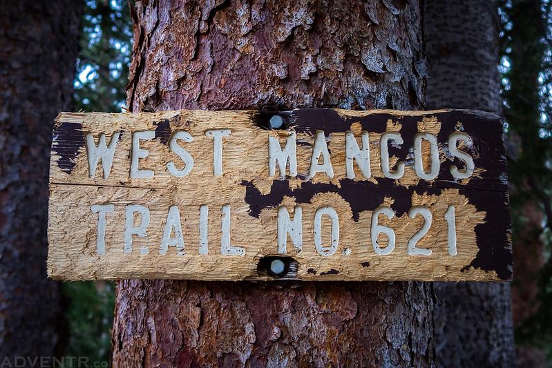 West Mancos Trail Sign