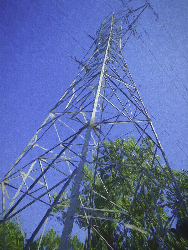 Powerline tower studio