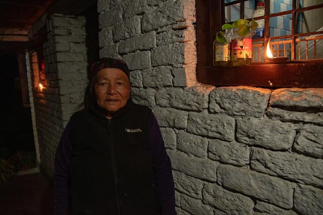 Le lodge éclaire pour le Tihar