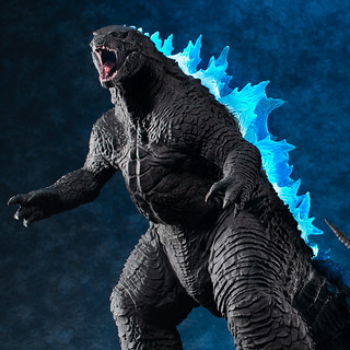 發光!咆哮!魄力尺寸!UA Monsters《哥吉拉2:怪獸之王》哥吉拉 ゴジラ(2019) 塗裝完成品