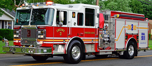 fire truck ct parade windsor locks seagrave engine