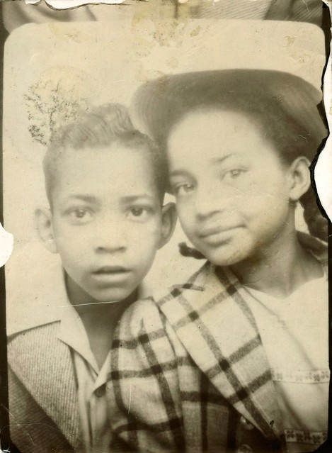 The beautiful faces of Lois Walker and Junior