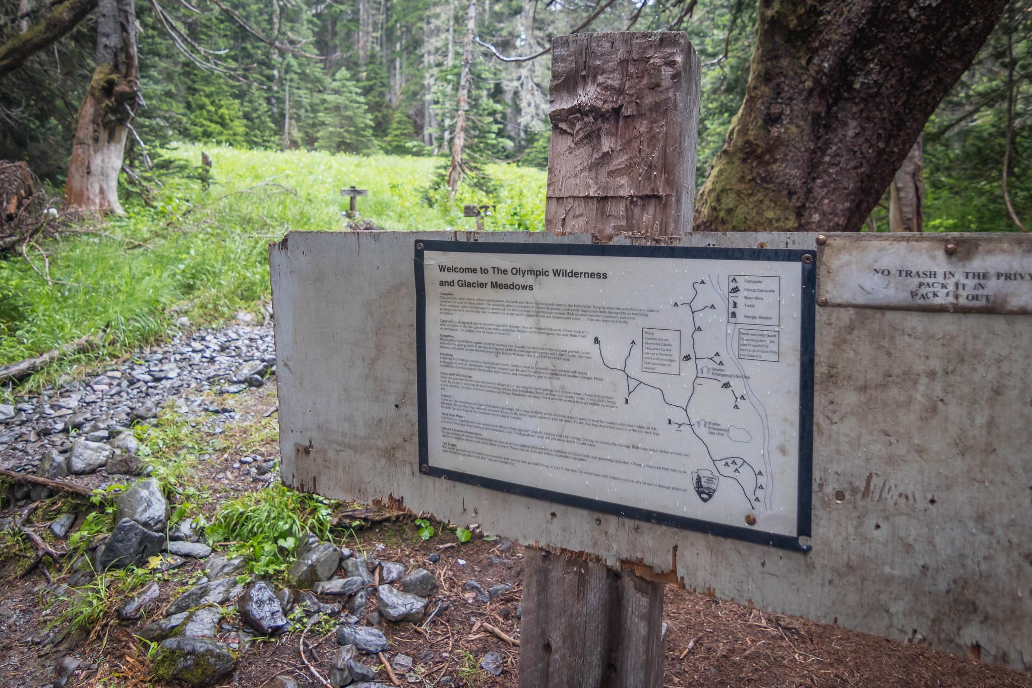 Glacier Meadows Camp at last