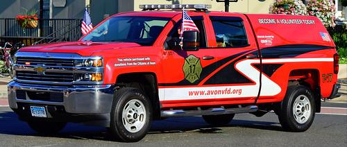 fire truck ct avon parade tunxis unionville farmington chevy silverado pickup