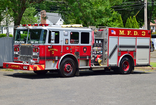 fire truck ct silver firefest meriden city seagrave engine