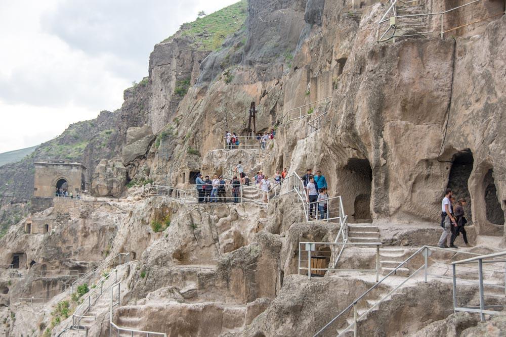Пещерный монастырь Вардзия Грузия
