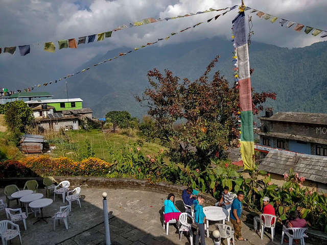 Lodge à Gandruk
