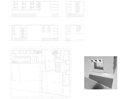Edificio Mixto en Viena. 3º Arquitectura. Universidad de Navarra. 2017-18