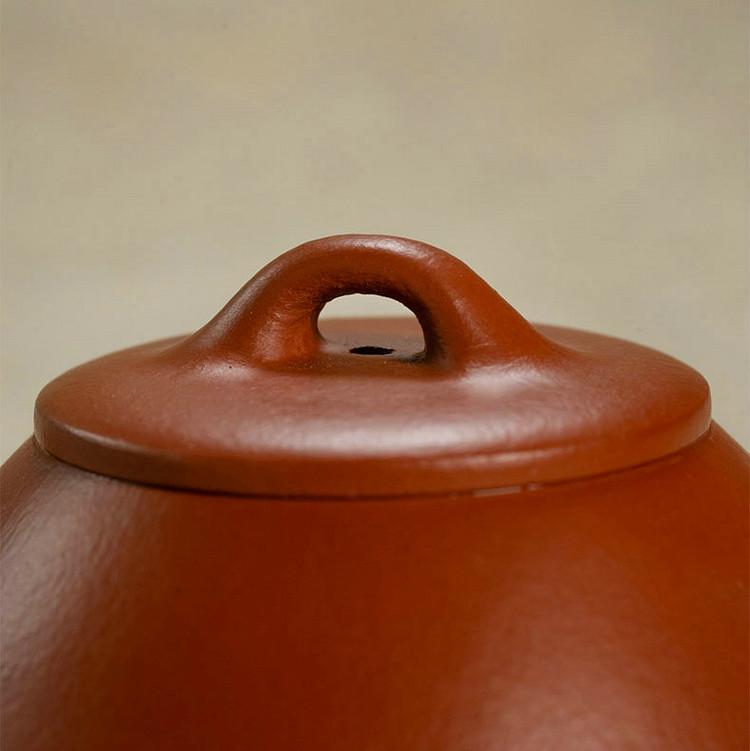 """Yixing """"Shi Piao"""" Teapot Capacity around 150CC  """"Zhao Zhuang Zhu Ni"""" Mud"""