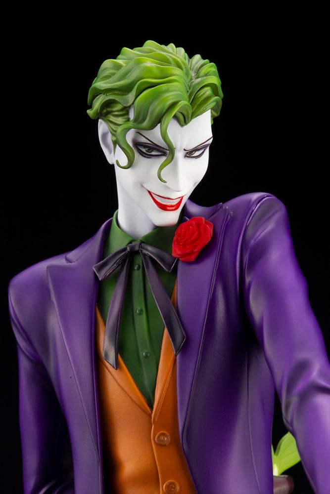 犯罪王子以邪艷美男之姿登場! 壽屋 DC COMICS 美少男系列【小丑】IKEMEN ジョーカー 1/7 比例PVC塗裝完成品