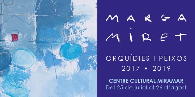 GALERIA DE FOTOS EXPOSICIÓ ORQUÍDIES I PEIXOS DE MARGA MIRET, SITGES 2019