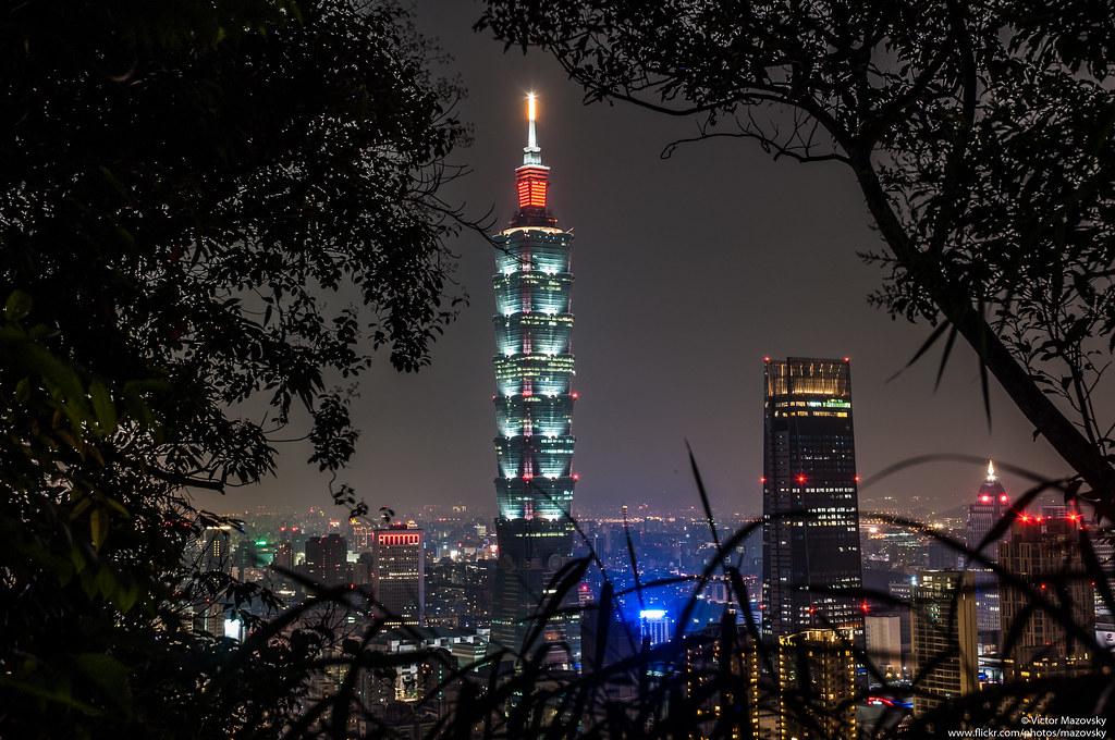 Taipei 101 / Тайбэй 101