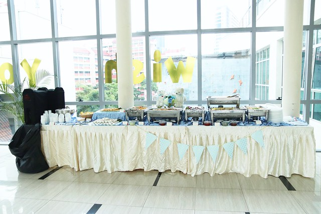 Buffet Table Layout
