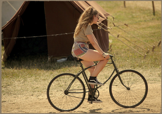 War and Peace Revival 2019: Cycling is the only way to get about the biggest military show