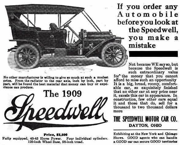 1909 Speedwell