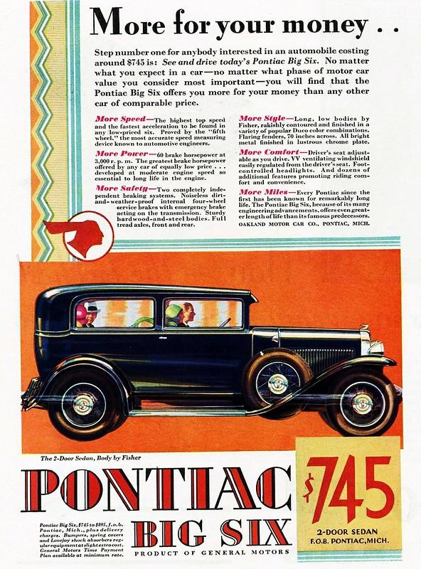 1929 Pontiac Big Six 2-Door Sedan