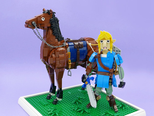 The Legend of Zelda: Breath of the Wild.