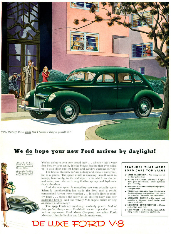 1939 Ford De Luxe V8