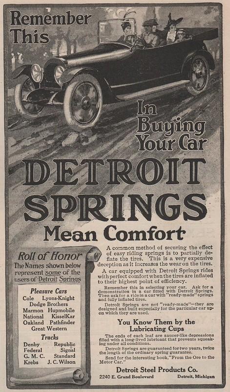 Detroit Springs 1915