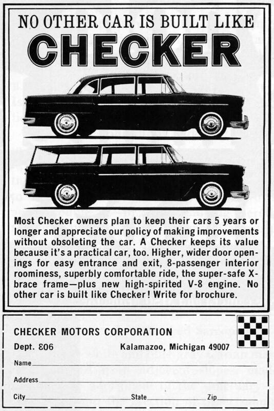 1967 Checker