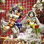 ISKCON Punjabi Bagh Deity Darshan 25 July 2019
