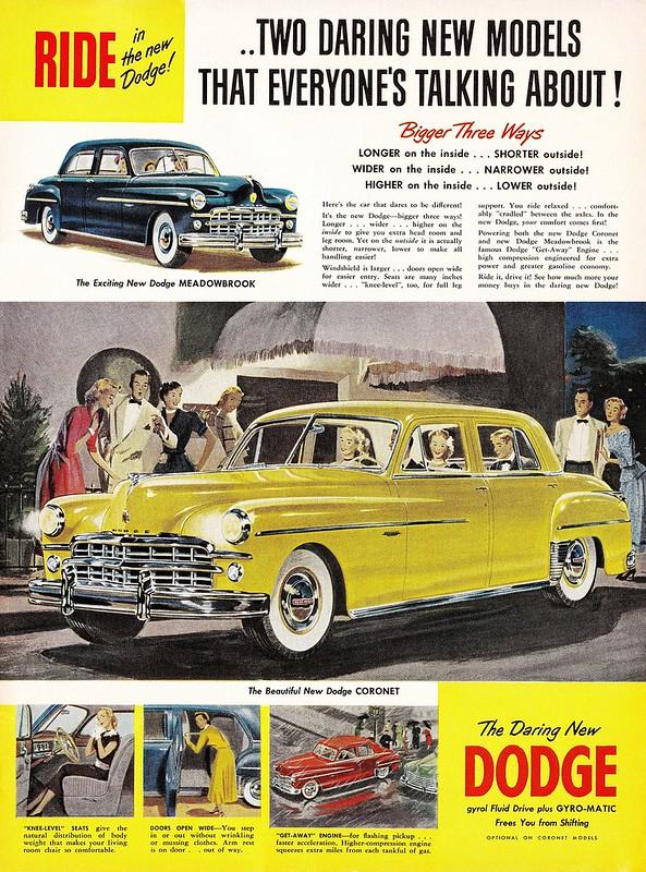 1949 Dodge Meadowbrook, Coronet