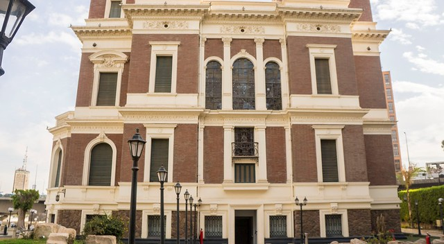 Backside of Aisha Fahmy's Palace in Cairo