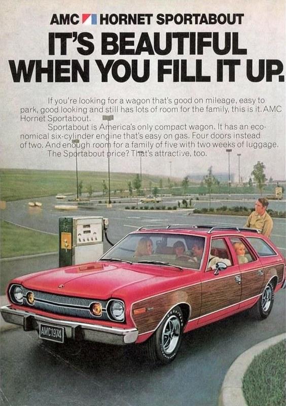 1974 AMC Hornet Sportabout