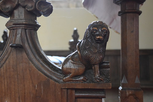 friendly lion (15th Century)