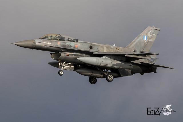 619 Greek Air Force (Hellenic Air Force) Lockheed Martin F-16D Fighting Falcon