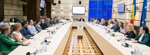 25.07.2019 Întrevederea Președintelui Parlamentului, Zinaida Greceanîi, cu reprezentanții Asociației Businessului European (EBA) și Camera de Comerț Americana (AmCham)