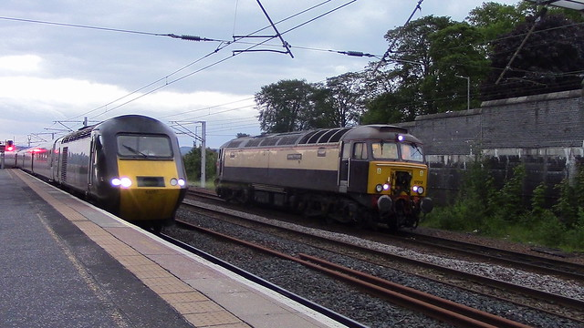 1S51 & 0S10 at Carstairs