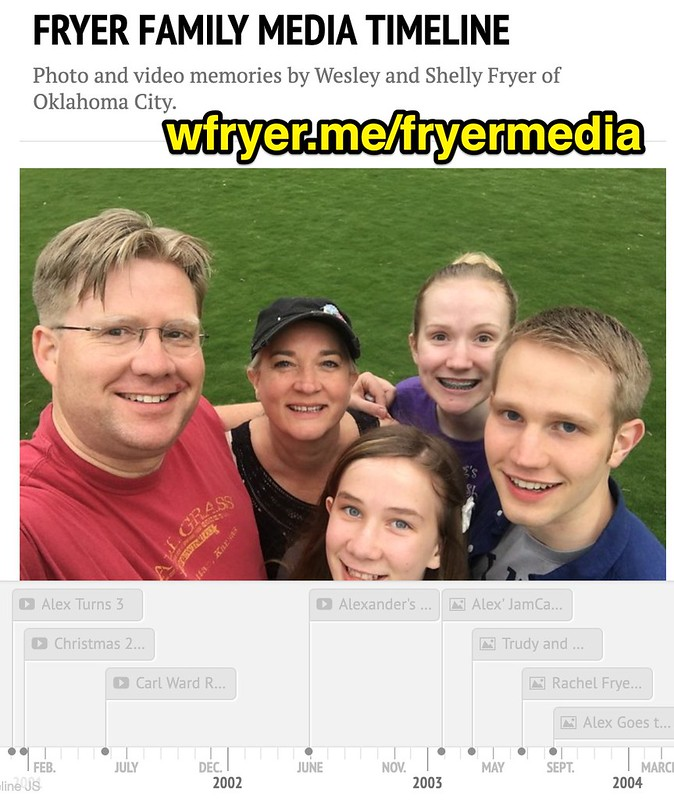 Fryer Family Media Timeline