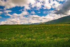 Mountainous landscape, Aragatsotn Region, Armenia