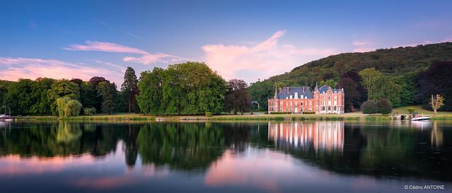 Château de Dave (Namur) à l'heure bleue [in Explore]