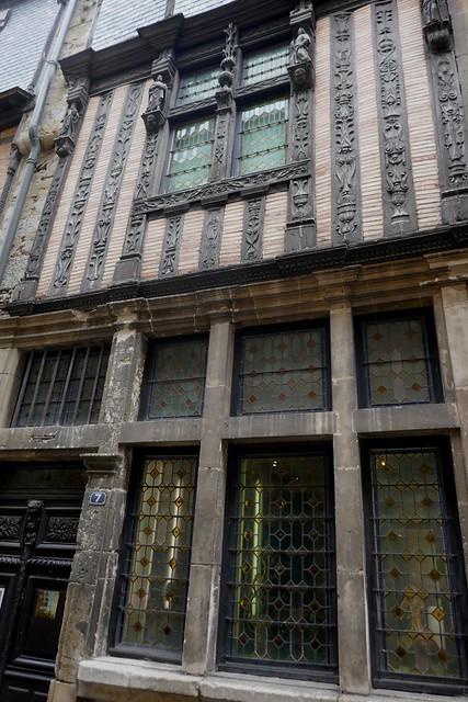 Maison du Drapier (XVe), rue de la reine Bérengère, cité Plantagenêt, Le Mans, Sarthe, Pays de la Loire, France.
