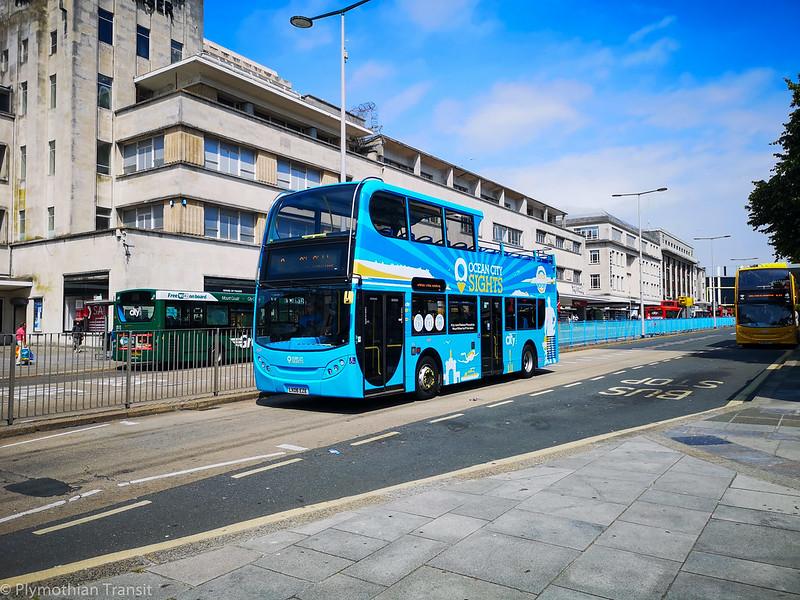 Plymouth Citybus 469 LX06EZE
