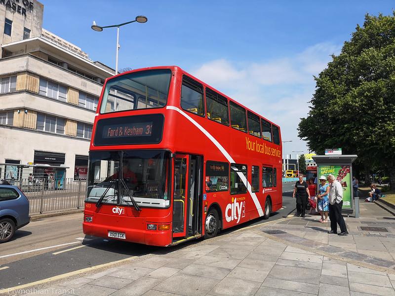 Plymouth Citybus 433 X501EGK